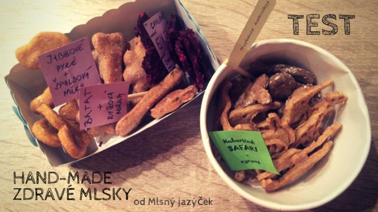Test:zdravé pamlsky pre psíkov od Mlsný jazýček+recept
