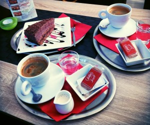 Dobrá káva a domáce koláčiky