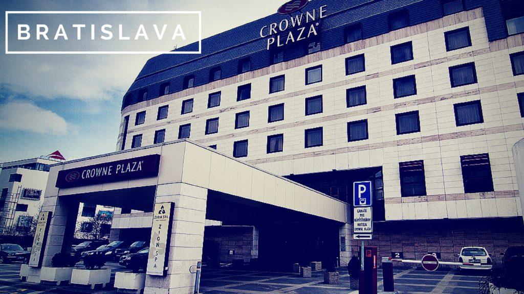 Ubytovanie pre páničkov a psíkov:Crowne Plaza
