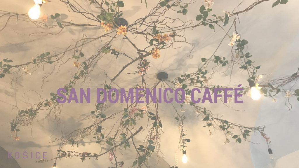 San Domenico caffé má tie najmenšie misky pre psa, aké kedy Frigo videl