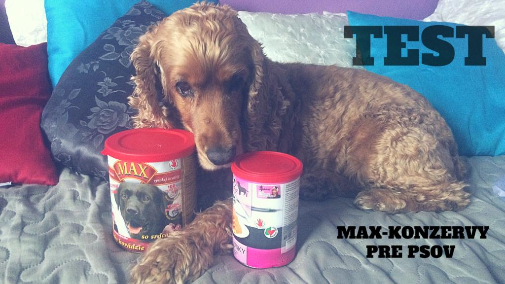 Test:konzervy pre psov Max od Hav-mňau
