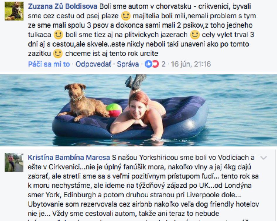plaze pre psov chorvatsko