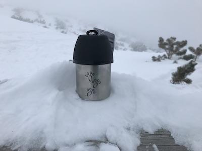 cestovná fľaša pre psa