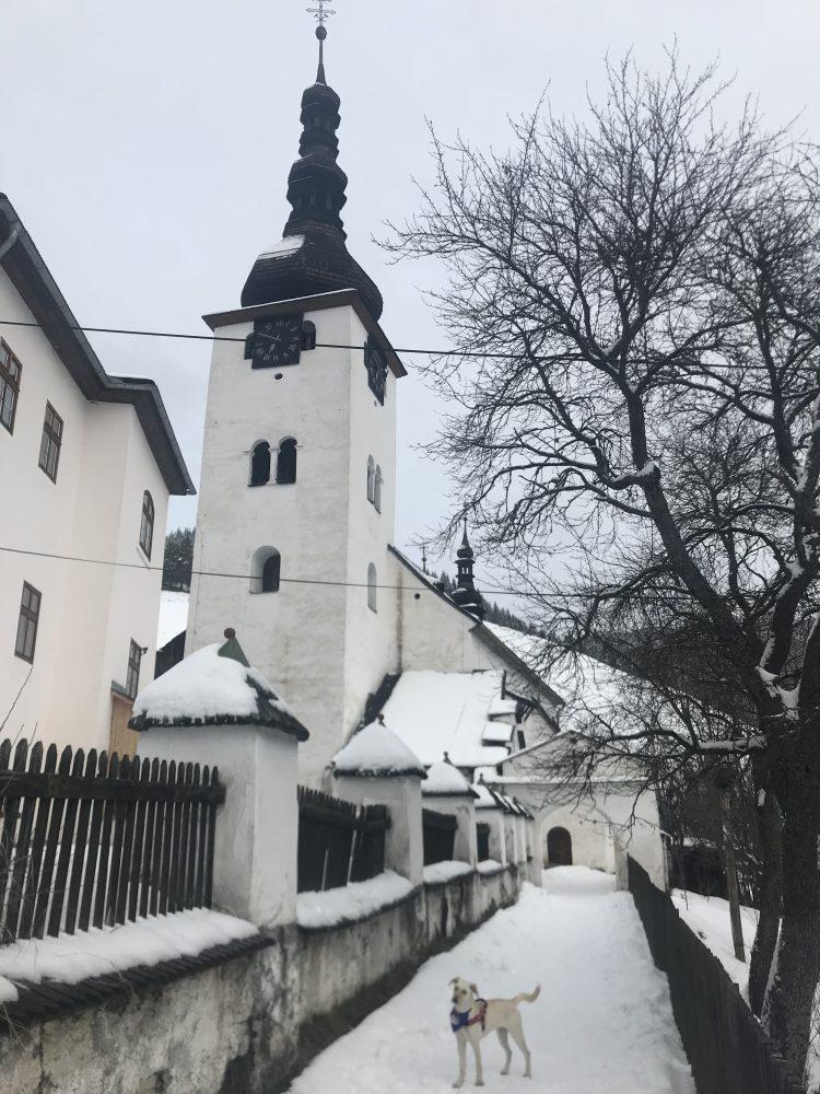 kostol premenenia pána špania dolina
