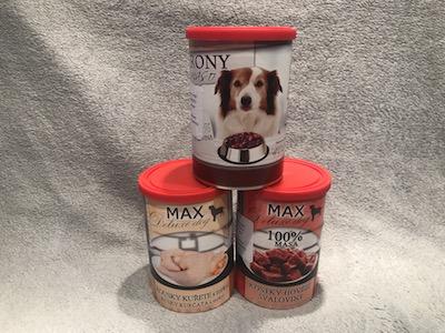 konzervy pre psa