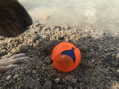 loptička do vody