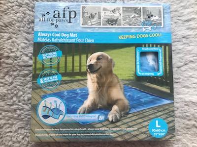 chladiaca podložka pre psa veľká