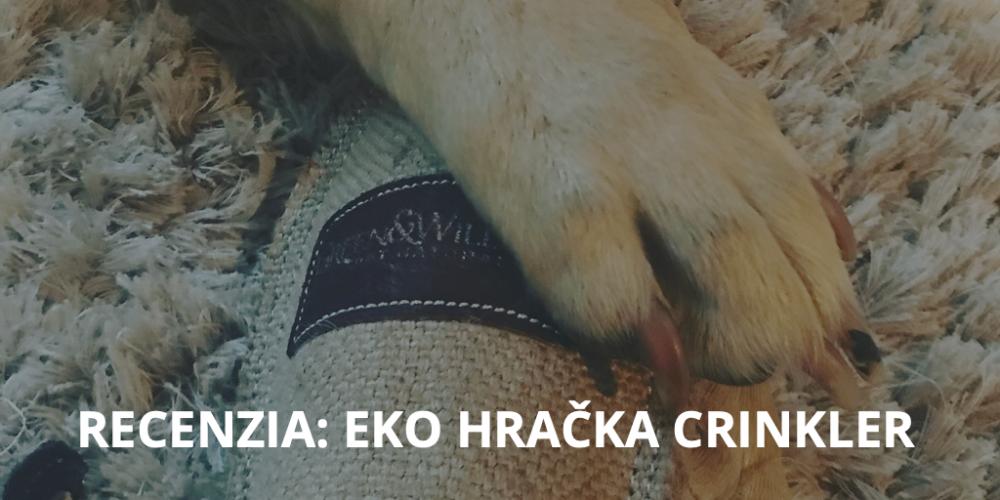 Recenzia: eko hračka pre psa Crinkler