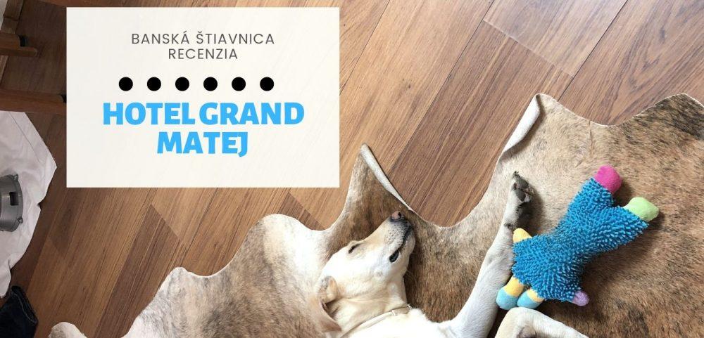 Hotel Grand Matej privíta každého psíčkara