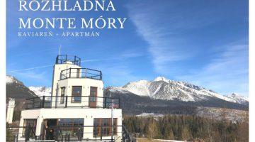 Rozhľadňa Monte Móry-káva a ubytko s luxusným výhľadom